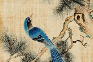 古风PSD模版75套,复古纹理,中国风素材