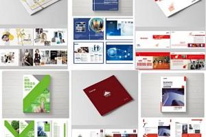 【最新】画册PSD模板+预览图